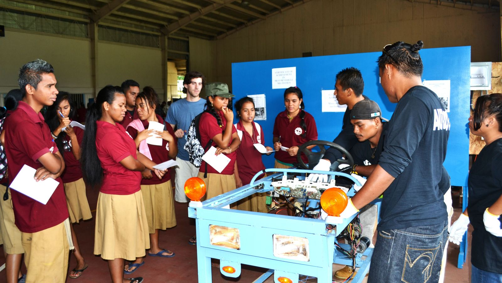 Com Fsm Pohnpei Campus Holds Skills Expo 2013