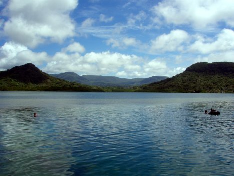 View of water from Pohnpei Water Park - Courtesy of www.comfsm.fm