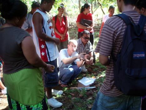 SC/SS 115 Ethnobotany visit to the Pohnpei Pwunso Botanic Garden