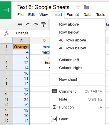 Introduction to Statistics Using Google Sheets